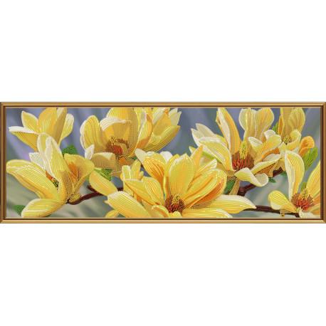 Набор для вышивания бисером Нова Слобода ДК-1087 Золотая