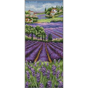 Набор для вышивания Anchor PCE0807  Provence Lavender Scape/Лавандовое поле