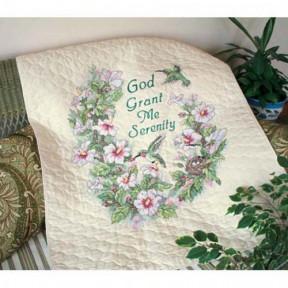 Набор для вышивания одеяла Dimensions 03232 Serenity