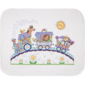Набор для вышивания одеяла Dimensions 73427 Baby Express Quilt