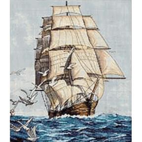 Набор для вышивания Dimensions 03886 Clipper Ship Voyage фото