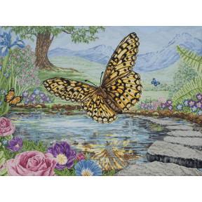 """Набор для вышивания Anchor MAIA 01232 """"3D Butterfly /3D"""