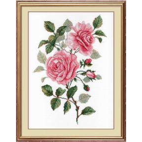 Набор для вышивки крестом МП Студия НВ-541 Садовые розы