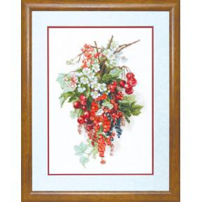 Набор для вышивки крестом Чарівна Мить М-266 Сладкая ягода фото