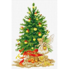 Набор для вышивки крестом Luca-S B1117 Рождественская ёлка
