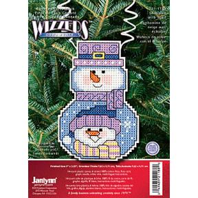 Набор для вышивания Janlynn 021-1188 Snowman With Scarf