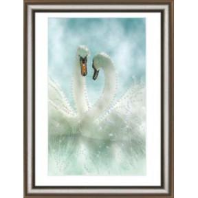 Набор для изготовления картины со стразами Чарівна Мить КС-1039