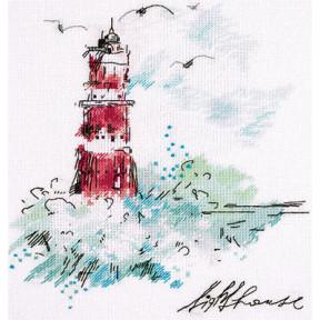 Набор для вышивки крестом Panna МТ-1906 Путеводный маяк