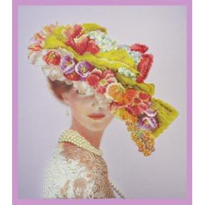 Набор для вышивания Картины Бисером Р-285 Викторианская дама