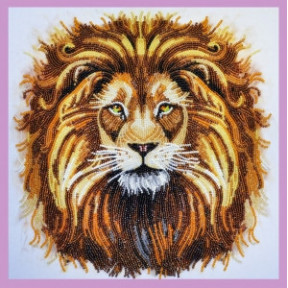 Набор для вышивания Картины Бисером Р-281 Царь зверей фото