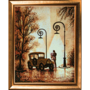 Набор для вышивания бисером Butterfly 479 Осенний вальс фото