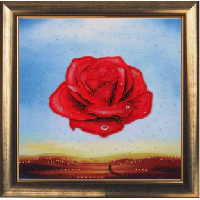 Набор для вышивания бисером Butterfly 360 Медитативная роза (по