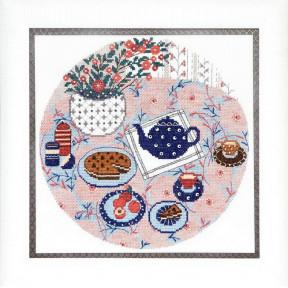Набор для вышивания крестом Чарівна Мить ВТ-188 Завтрак фото