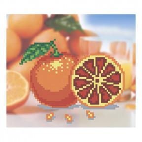 Набор для вышивания бисером ВДВ ВБ-25 Апельсинчики фото
