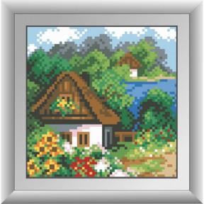 Набор для рисования камнями Dream Art 30488D Весенний домик фото