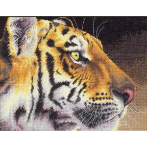 Набор для вышивания крестом Classic Design Тигр 4411