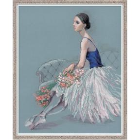Набор для вышивки крестом Риолис 100/054 Балерина фото