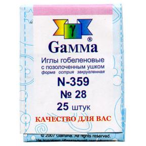 Иглы гобеленовые 359 № 28 Гамма