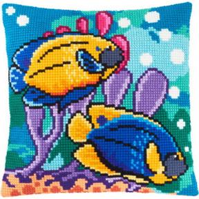 Набор для вышивки подушки Чарівниця Z-58 Рыбки в аквариуме фото