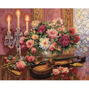 Набор для вышивки крестом Dimensions 35185 Romantic Floral