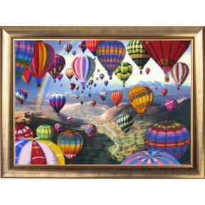 Набор для вышивания бисером Butterfly 368 Полет воздушных шаров