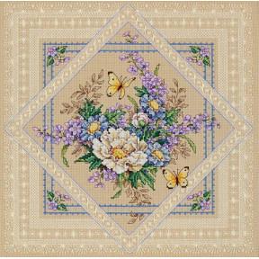 Набор для вышивания крестом Classic Design 4407 Ажурные цветы