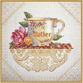 Набор для вышивания крестом Classic Design Мамина чашка 4406