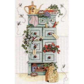 Набор для вышивания крестом Classic Design Садовый комод 4404