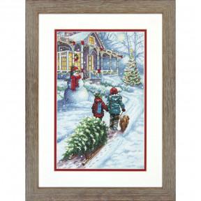 """Набор для вышивания  Dimensions 70-08960 """"Christmas Tradition/Рождественская традиция"""""""
