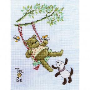Набор для вышивания крестом Bothy Threads XMS14 Ted фото