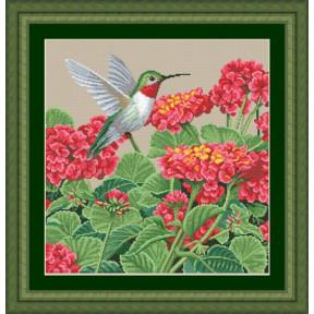Набор для вышивания Kustom Krafts 98457 Великолепие колибри фото