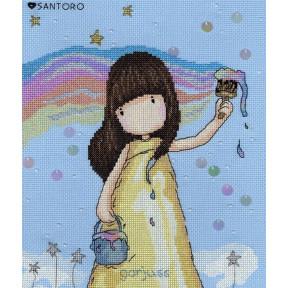 """Набор для вышивания крестом Bothy Threads XG32  Rainbow Dreams """"Радужные мечты"""""""