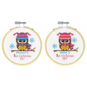 """Набор для вышивания крестом Dimensions 70-08965 """"Baby's First"""