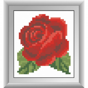 Набор для рисования камнями Dream Art 30464M Красная розочка