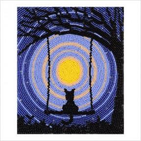 Набор для вышивания бисером ВДВ ТН-0686 Звездная ночь фото