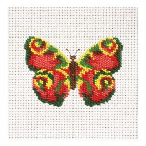 Набор для вышивания бисером ВДВ ВБ-08 Бабочка фото