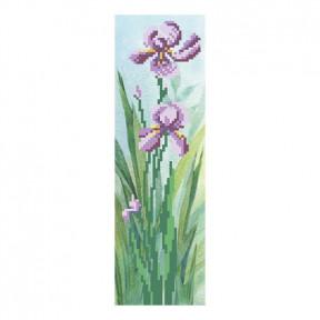 Набор для вышивания бисером ВДВ ВБ-38 Фиолетовый ирис фото