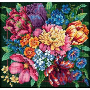 """Набор для вышивания гобеленом Dimensions 72-120011 """"Цветочный"""