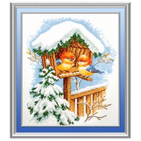 Набор для вышивки крестом Овен 371 Птички