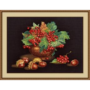 Набор для вышивки крестом Овен 943 Осенний блюз