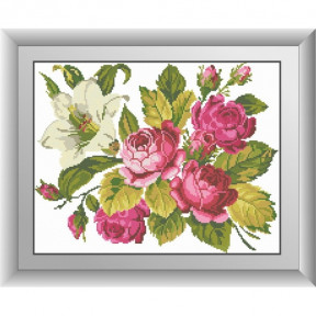 Набор для рисования камнями Dream Art. 30485 Розы и лилия фото