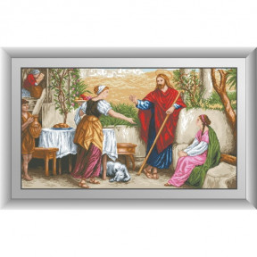 Набор для рисования камнями Dream Art. 30481 Иисус, Марфа и