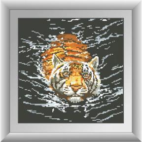 Набор для рисования камнями Dream Art 30475D Тигр фото