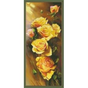 Набор для вышивания крестиком OLanTa VN-044 Розы фото