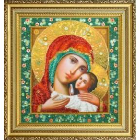 Набор для вышивания Картины Бисером Р-313 Икона Божией Матери Касперовская