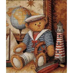 Набор для вышивания крестом Classic Design Мишка-морячок 4410