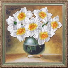 """Набор для вышивания Магия Канвы Б-285 Комплимент """"Нарциссы"""" фото"""