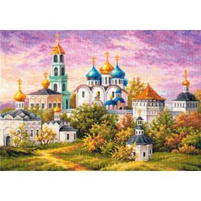 Набор для вышивки крестом Чудесная игла 75-06 Сергиев Посад.