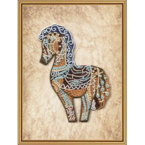 Набор для вышивания бисером Нова Слобода ДК-5596 Дивная лошадь