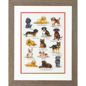 """Набор для вышивания Dimensions 70-35353 """"Собачий сэмплер/Dog Sampler"""""""